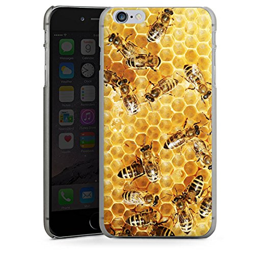 Apple iPhone 5s Hülle Case Handyhülle Bienen Biene Insekten Hard Case anthrazit-klar