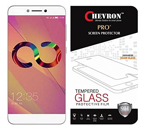 Chevron 0.3mm Pro+ 2.5D Coolpad Cool 1 Curved Edges Premium Tempered Glass...