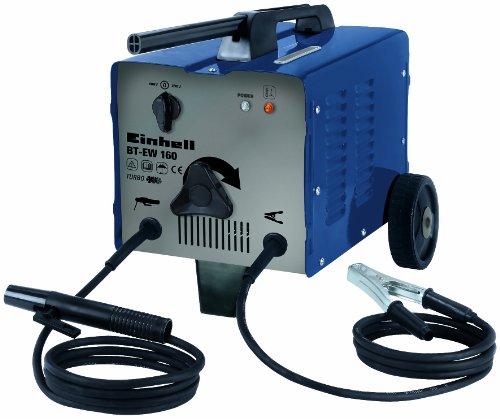 Einhell Elektrooden Schweißgerät BT-EW 160 (bis 160 A, 230 V, 400 V, inkl. Masseklemme, Elektrodenhalter, Ventilatorkühlung, fahrbar, Thermowächter mit Kontrollleuchte)
