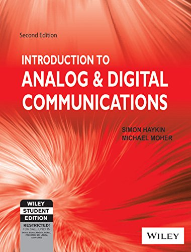 Introduction To Analog And Digital Communications 2Ed (Pb)