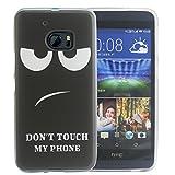 Dooki, HTC 10 Hülle, Weiche Silikon TPU Schützend Handy