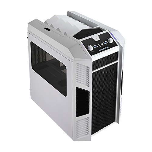 Aerocool XPredator Cube Case Mini Tower per PC, Bianco