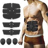 ABS Trainer, Muskeltoner, Toning-Stimulator, Heim-Fitnessgerät, für Bauch, Arm, Bein, Brust, Schulter, Rücken, EMS (elektrische Muskelstimulation) für Herren und Damen
