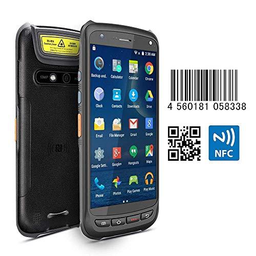 [NFC Industrieller] Android 6.0 3G 4G PDA WLAN-GPS Terminal mit Bluetooth -Touchscreen und Zebra-Barcode - NFC Industrieller mobiler PDA - Datenerfassungs-Support Loyverse POS Software 3g-zebra