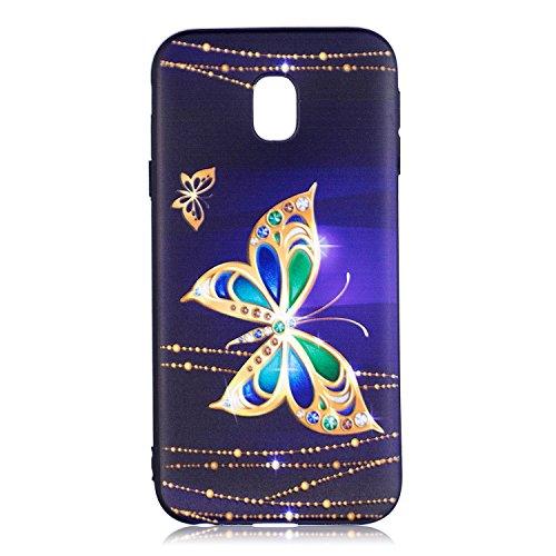 Guran® TPU Schutzhülle Silikon Case für iPhone 7 / iPhone 8 Smartphone Handytasche Gemalte Handyhülle Cover - Nachteule color03