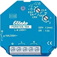 Eltako 868MHZ RADIO ACTUATOR Surge Switch Relay with Power Measurement Not 10 A/250 V AC – Pack of 1 FSR61VA A preiswert