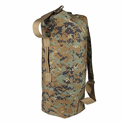 TBB-Doppio zaino borsa a tracolla escursionismo outdoor canna travel bag sacchetto di nylon,un B