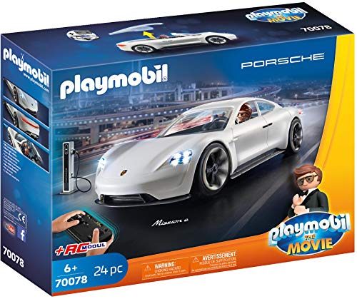PLAYMOBIL:THE MOVIE Rex Dasher\'s Porsche Mission E