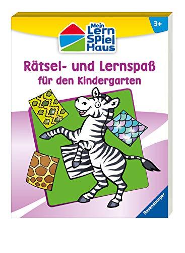 Rätsel- und Lernspaß für den Kindergarten (Mein Lern-Spiel-Haus) (Kindergarten Lern-spiele Für)