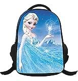 MissFox Zainetto Asilo Ragazze Zaino Frozen Principesse Anna E Elsa E Olaf Backpack School Bag A1