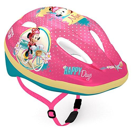 Disney Kinder Bike Helmet Minnie Sports, Mehrfarbig, Small