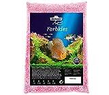 Dehner Aqua Aquarienkies, Körnung 2-3 mm, 5 kg, rosa