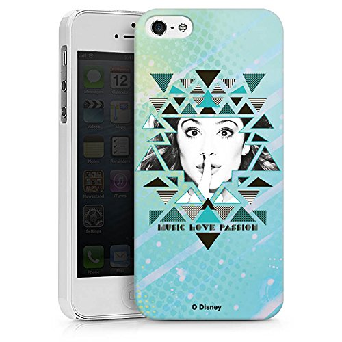 Apple iPhone X Silikon Hülle Case Schutzhülle Disney Violetta Fanartikel Merchandise Hard Case weiß