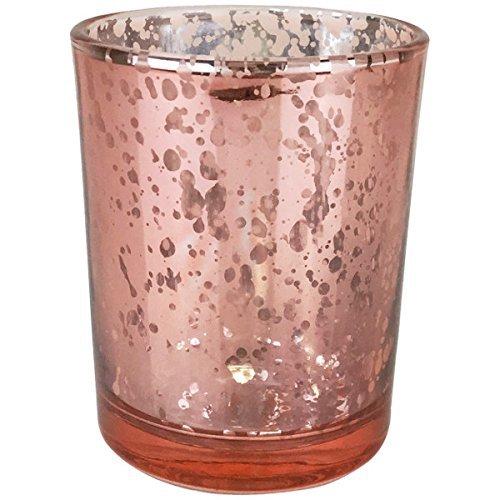 Just Artifacts Quecksilber Glas Votiv-Kerzenhalter Einheitsgröße erröten
