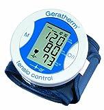 Geratherm  tensio control Digitales Handgelenk-Blutdruckmessgerät - blau