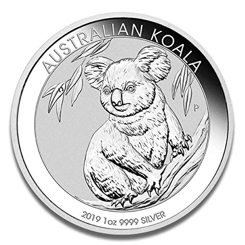 Silbermünze Koala - prägefrisch - einzeln in Münzkapsel verpackt (1oz (2019)) -