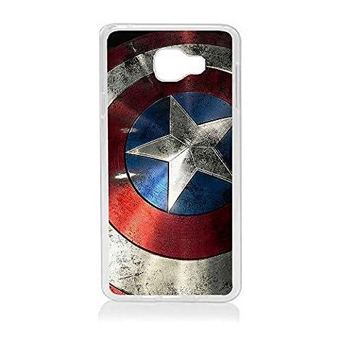 Aux Prix Canons - Etui housse coque Marvel Comics Avengers Captain America Samsung Galaxy A3 2017