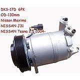 Gowe A/C Compresseur automatique pour dks17d A/C Compresseur pour voiture Nissan Maxima J31teana 2,5OEM # 926002004–9y40a 506211–8631926009y40a 50621