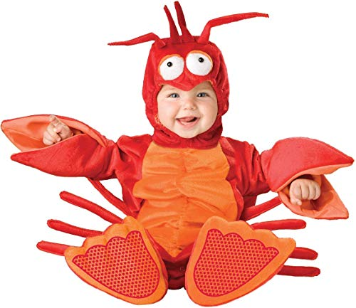 Lil Red Lobster Jumpsuit Designer Costume Child Toddler 6-12 Months (Garnelen Kostüm)