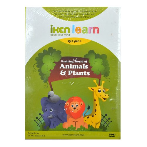 iKen Learn Exciting World of Animals and Plants DVD