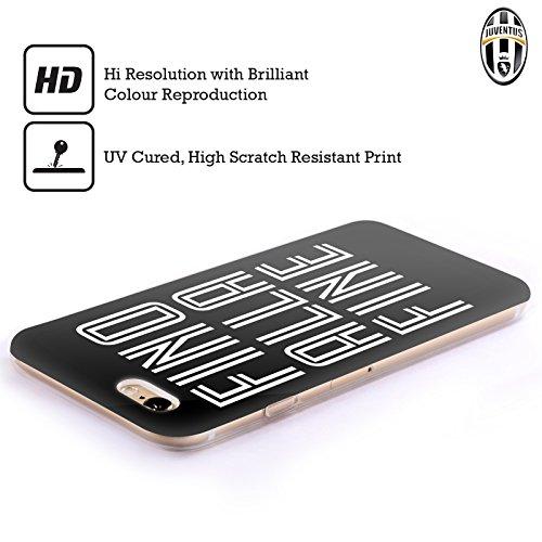 Ufficiale Juventus Football Club Fino Alla Fine Nero Tipo Cover Morbida In Gel Per Apple iPhone 6 / 6s Fino Alla Fine Nero