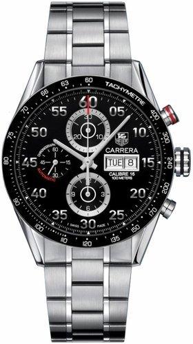TAG Heuer Carrera Chronograph Day-Date Automatik Herrenuhr CV2A10-BA0796