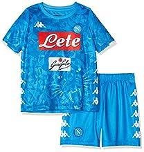 SSC Napoli, Junior Domicile, Hamsik, Kit 2018/2019, Enfants, Bleu, 04