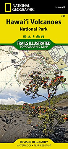 Hawai'i Volcanoes National Park, Hawai'i, USA (Trails Illustrated Maps)