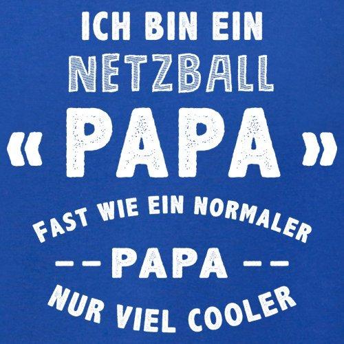 Ich bin ein Netzball Papa - Herren T-Shirt - 13 Farben Royalblau