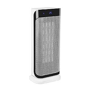 Klarstein Calefactor Chaval – Calefactor Vertical, Radiador, 2000 W, Giratorio, Apagado automático, No se sobrecalienta…