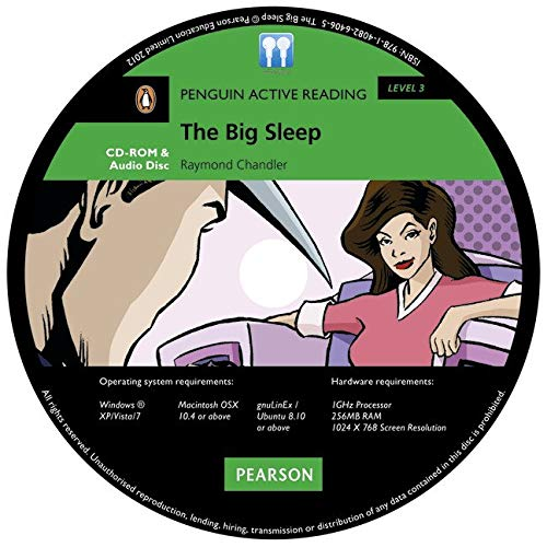 Penguin Active Reading 3: The Big Sleep Book and MP3 Pack (Pearson English Active Readers) - 9781408264065 (Penguin Active Reading (Graded Readers)) por Raymond Chandler