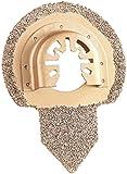 AGT Professional Multitool-Mörtel-Aufsatz: Fliesen- und Mörtel-Entferner für Multitools, 65 mm (Werkzeug-Aufsatz für Fließen)