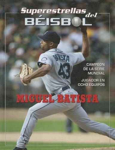 Miguel Batista (Superestrellas del Beisbol) por Tania Rodriguez Gonzalez