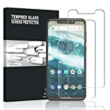 Motorola One Screen Protector, AVIDET 9H Hardness [Case Friendly] [Anti-Scratch] [Bubble Free] Tempered Glass film for Motorola Moto One (2 Pack)