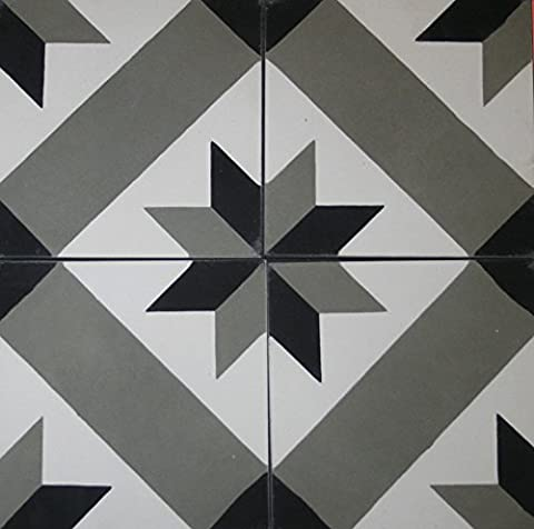 4Motif carreaux de sol Ciment carrelage 4611Stickers pour carrelage Image de carrelage marocain carrelage