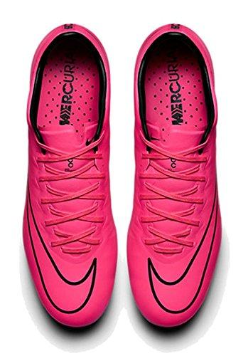 Nike Mercurial Vapor X Fg, Chaussures de Football (Chaussures de Course) Homme Rose