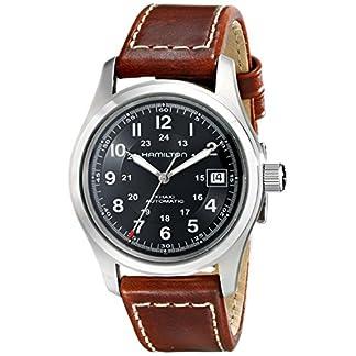 Hamilton Reloj Analogico para Hombre de Automático con Correa en Cuero H70455533