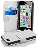 Cadorabo Apple iPhone 5C Etui de Protection STRUCTURE en ALBÂTRE BLANC – Coque...