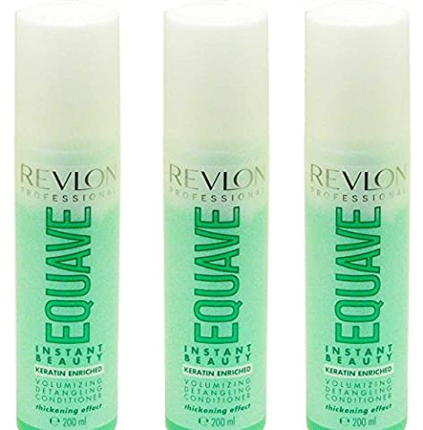 Revlon Volumizing detang Ling Après-shampoing Set 3x 200ml