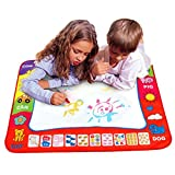 Transer Kinderspielzeug–Wassermalmatte–1Matte + 2Wasserstifte, pädagogisches Malen, Spielzeuggeschenk, 80x 60cm