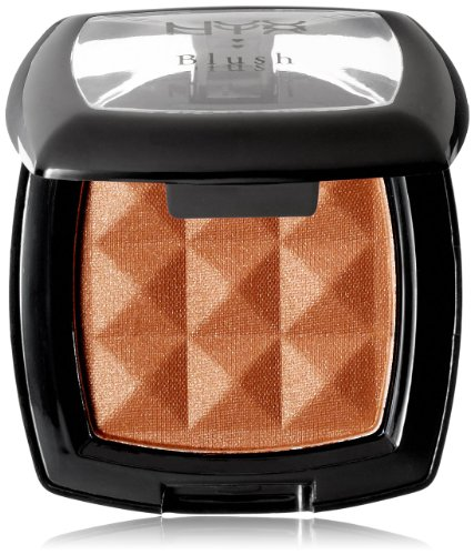 NYX Cosmetics Powder Blush, Pecan, 0.14-Ounce