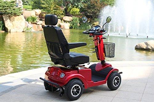 """Alpenmobil """"Race XL"""" - elektrisches altersgerechtes Invalidenfahrzeug / Behindertenfahrzeug für Senioren oder Personen mit einer Gehbehinderung"""