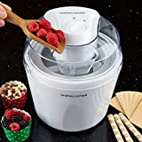 Andrew James Eismaschine mit 1,5L Schüssel für Gefrorener Joghurt und Sorbet Vergleich