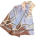 TianWlio Frauen Schals Mode Vintage Seide Sonnencreme gedruckt weichen Schal Wrap Wraps Schal Schals