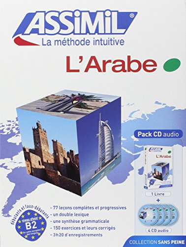 Couverture de L'Arabe ; Livre + CD Audio (x4) par Dominique Halbout, Jean-Jacques Schmidt