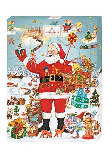 Niederegger Adventskalender Weihnachtsmann
