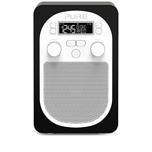 pure-evoke-d1-portable-digital-dab-fm-radio-with-alarm-and-kitchen-timer-black