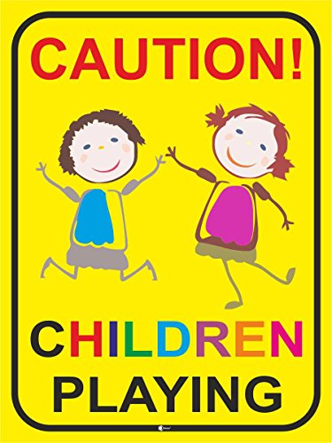 sign-caution-children-playing-art-234-caution-beware-warning-sign-of-children-slow-ride-play-street
