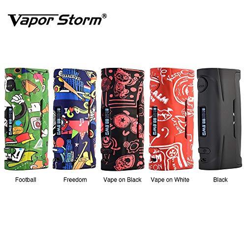 ce00463bf8a69 Vapor Storm Puma Baby 80W TC Box MOD OLED Display Cigarrillo electrónico  exclusivo con cuerpo de graffiti Sin líquido E Sin nicotina (Negro)