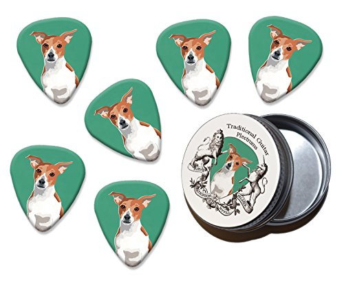 jack-russell-martin-wiscombe-6-x-guitar-picks-in-tin-vintage-retro
